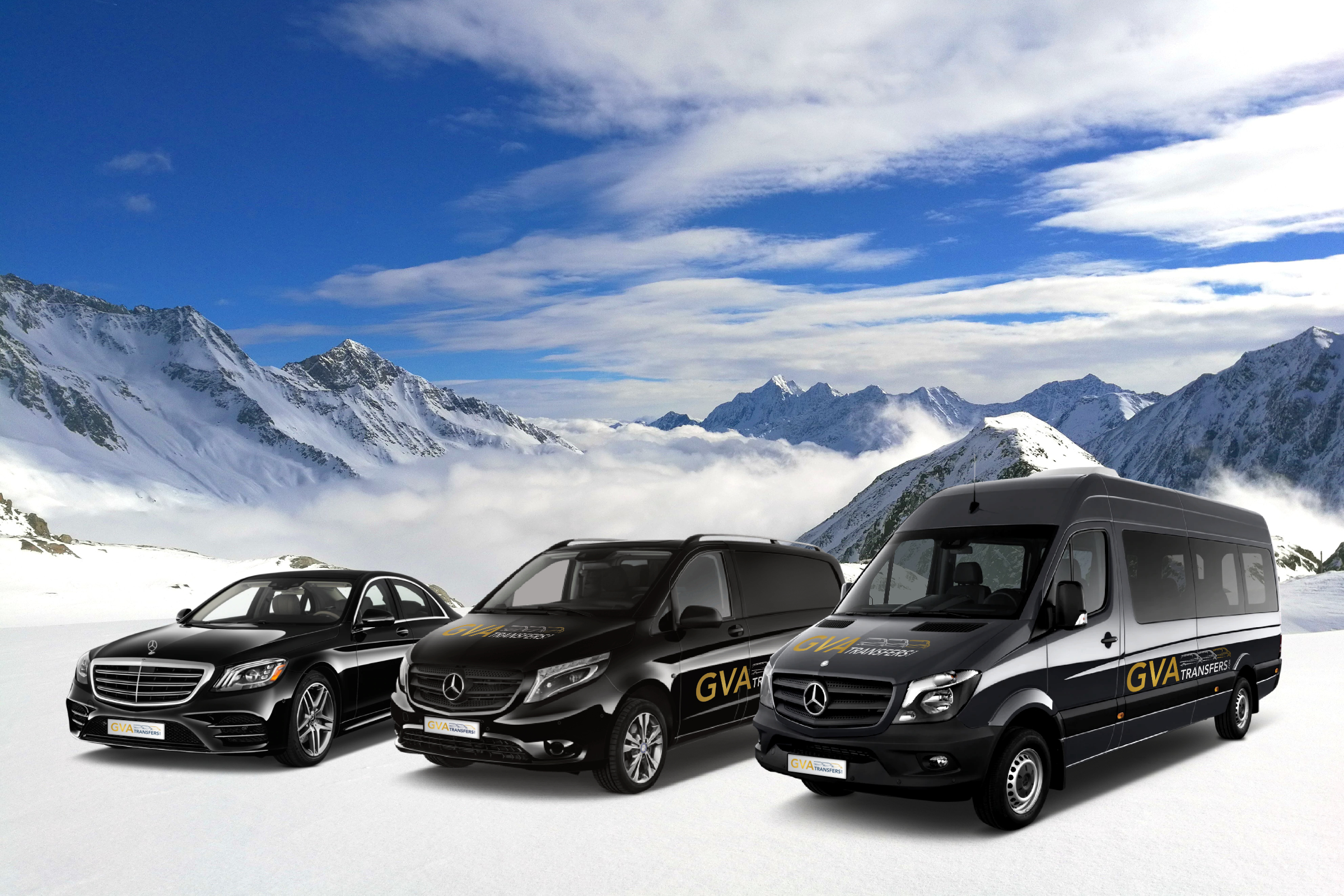 GVA Fleet vehicles mercedes